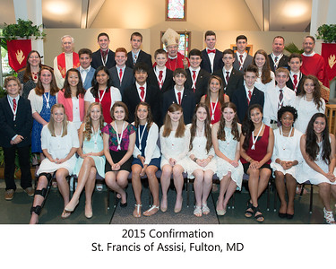 2015 Confirmation